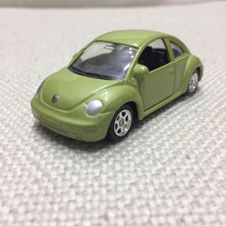フォルクスワーゲン(Volkswagen)のフォルクスワーゲン ニュービートル ミニカー グリーン New Beetle(ミニカー)