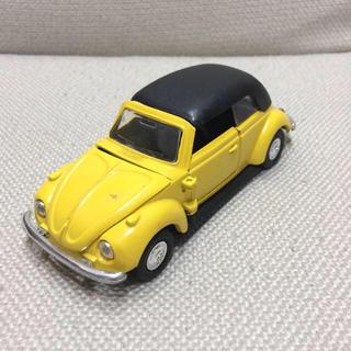 フォルクスワーゲン(Volkswagen)の《日本製》フォルクスワーゲン ビートル ミニカー イエロー(ミニカー)