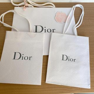 Dior - 訳あり! Dior ショッパー 3枚セット