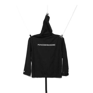 PEACEMINUSONE - PMO PULLOVER HOODIE #1 BLACK