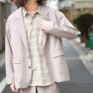ハレ(HARE)のJUNRed ビッグテーラードジャケット ライトグレー 13200円(テーラードジャケット)