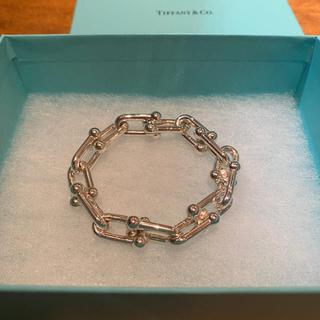 Tiffany & Co. - 【新品未使用】ティファニー ハードウェア ブレスレット ラージ Tiffany