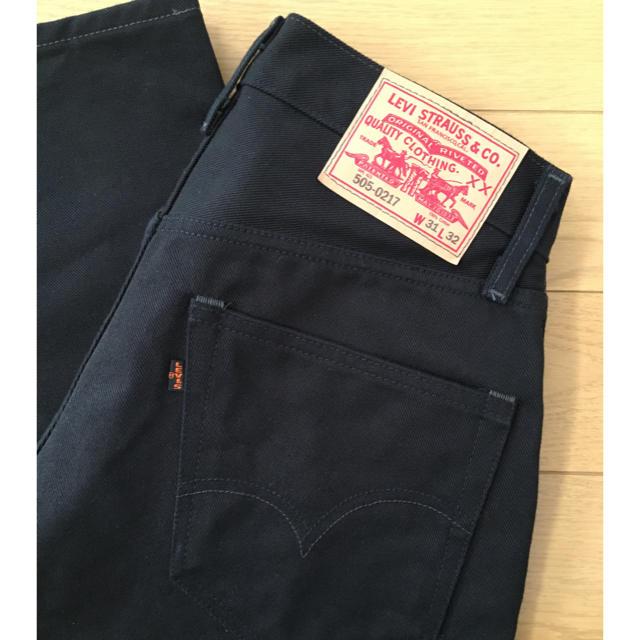Levi's(リーバイス)のリーバイスビンテージクロージング 505 黒タブ ビッグE 42タロン メンズのパンツ(デニム/ジーンズ)の商品写真