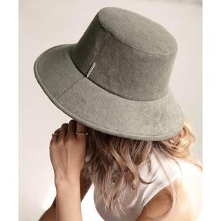アリシアスタン(ALEXIA STAM)のAlexiastam Terry Cloth Bucket Hat khaki(ハット)
