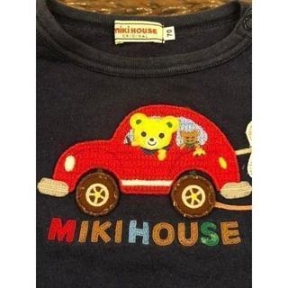mikihouse - 【セール中】ミキハウス Tシャツ プッチー君 車