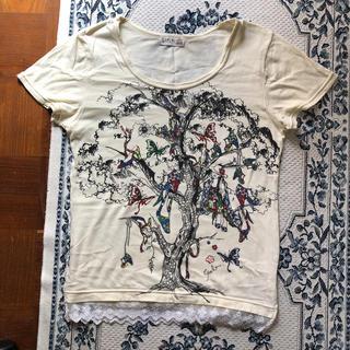 スカラー(ScoLar)のスカラー Tシャツ Mサイズ イエロー(Tシャツ(半袖/袖なし))