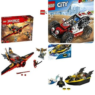 Lego - レゴ  レゴブロック まとめ売り ニンジャゴー+バットマン+オフロードレースカー