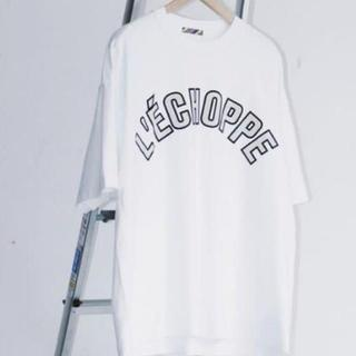 COMOLI - is-ness × L'ECHOPPE TEE レショップ Tシャツ