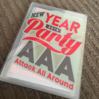 トリプルエー(AAA)のAAA NEW YEAR Party 2018 DVD(ミュージック)