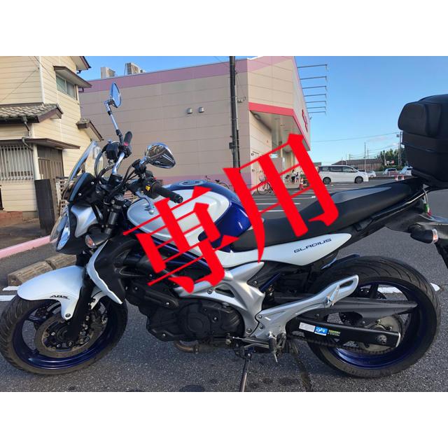 スズキ(スズキ)のSUZUKI バイク スズキ グラディウス400 ABS 自動車/バイクのバイク(車体)の商品写真