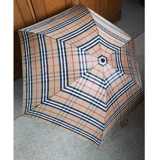 BURBERRY - Burberryバーバリー折りたたみ傘