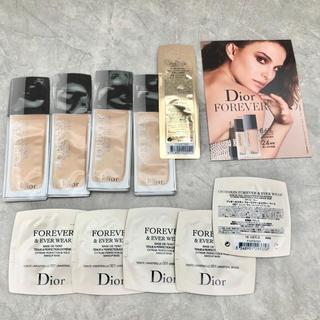 ディオール(Dior)の【新品】Dior SKIN ベース&ファンデサンプルセット【送料込】(ファンデーション)