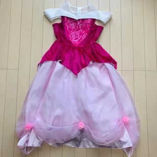 ディズニー(Disney)の最終お値下げ♡ディズニー オーロラ姫 ドレス ビビディバビディブティック 120(ワンピース)