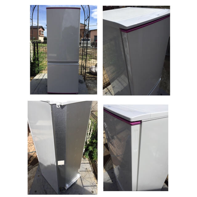 SHARP(シャープ)のシャープ 冷凍冷蔵庫 SJ-17E2-KP おしゃれピンク 付替ドア  スマホ/家電/カメラの生活家電(冷蔵庫)の商品写真