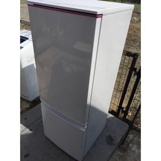 SHARP - シャープ 冷凍冷蔵庫 SJ-17E2-KP 付替ドア ピンク
