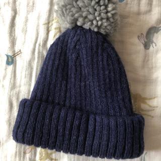 アカチャンホンポ(アカチャンホンポ)のベビーニット帽(48〜50)(帽子)
