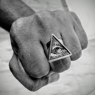 フリーメイソン リング 指輪 アクセサリー(リング(指輪))