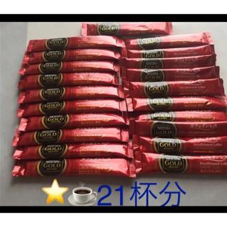 ネスレ(Nestle)のネスカフェ GOLDブレンド   カフェインレス 20本 オマケ1つ(コーヒー)