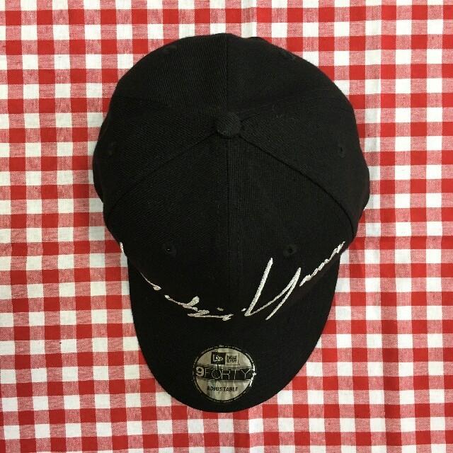 Yohji Yamamoto(ヨウジヤマモト)のYohji Yamamoto× newera キャップ メンズの帽子(キャップ)の商品写真