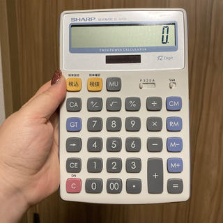 SHARP - SHARP 電卓 EL-S432
