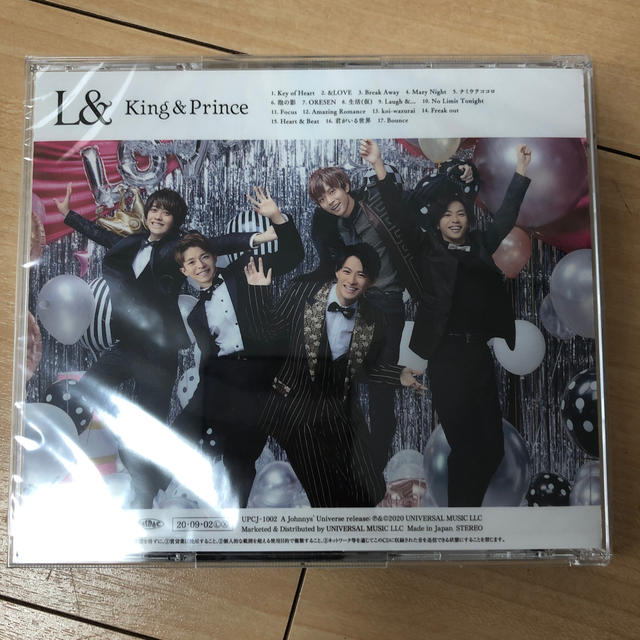 Johnny's(ジャニーズ)のL& 通常盤 エンタメ/ホビーのCD(ポップス/ロック(邦楽))の商品写真