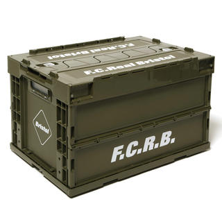 F.C.R.B. - fcrb LARGE FOLDABLE CONTAINER カーキ