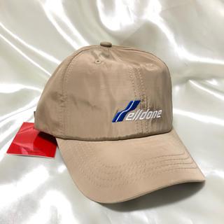 PEACEMINUSONE - 新品 we11done キャップ 帽子 ベージュ g-dragon着用 正規品