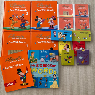 Disney - DWE ディズニー fun with words CD my big book