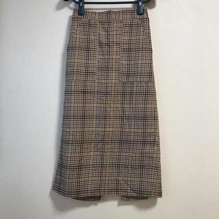 ディスコート(Discoat)のチェック スカート(ロングスカート)