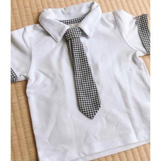 ニシマツヤ(西松屋)のキッズ 半袖ポロシャツ フォーマル(ドレス/フォーマル)
