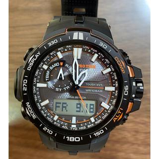 カシオ(CASIO)のカシオプロトレック トリプルセンサー PRW-6000Y(腕時計(アナログ))