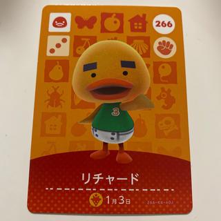Nintendo Switch - あつもり あつ森 アミーボカード  リチャード 鳥