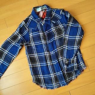 エムピーエス(MPS)のネルシャツ リバーシブル 130(Tシャツ/カットソー)