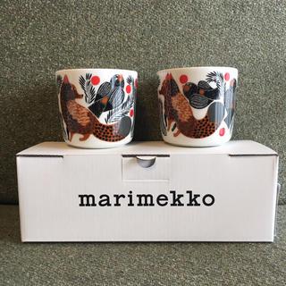 マリメッコ(marimekko)の新品未使用  ケトゥンマルヤ  ラテマグ  セット(食器)