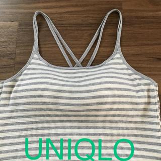 UNIQLO - UNIQLOブラトップ クロスバックMサイズ