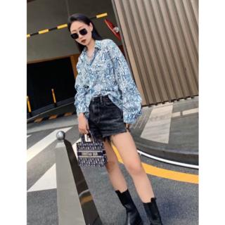 Dior - DIORxStussy ロゴ シャツ M  男女兼用