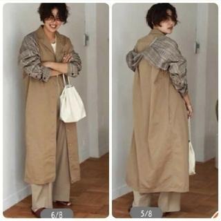 トゥデイフル(TODAYFUL)のtodayfulVintage Twill coat(ロングコート)