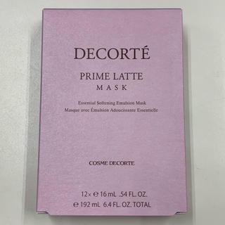 COSME DECORTE - ★新品未使用★ コスメデコルテ プリム ラテ マスク 12枚入