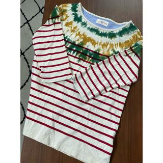ウィゴー(WEGO)のBROWNY VINTAGE  ボーダーカットソー(Tシャツ/カットソー(半袖/袖なし))