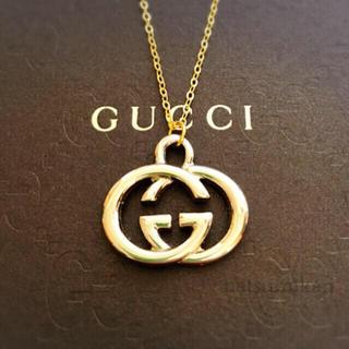 Gucci - GUCCI 正規品 チャーム ネックレス (ゴールド)