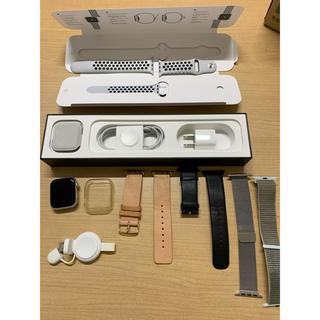 アップルウォッチ(Apple Watch)のおまけたくさん APPLE WATCH4 NIKE+ 44 GPS(腕時計(デジタル))