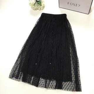 DOLCE&GABBANA - 【美品】DOLCE&GABBANA ドルチェ ドルガバ レース 刺繍 スカート