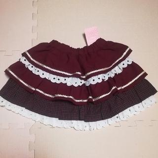 シャーリーテンプル(Shirley Temple)のシャーリーテンプル  フリル♡ティアードスカート  120(スカート)