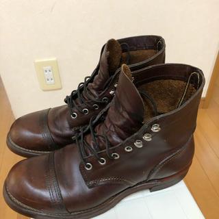 レッドウィング(REDWING)のRED WING ブーツ 8111 Iron Range(ブーツ)
