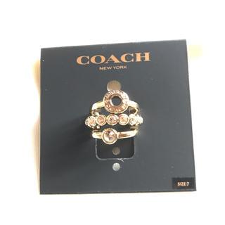 コーチ(COACH)のCOACH 3本セットファッションリング(リング(指輪))