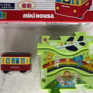 ミキハウス(mikihouse)のミキハウス パズルトレイン(知育玩具)