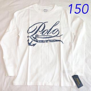 POLO RALPH LAUREN - ラルフローレン グラフィックTシャツ 長袖 M/150