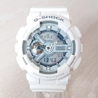 カシオ(CASIO)の美品【CASIO/G-SHOCK】デジアナ メンズ腕時計 GA-110C(腕時計(デジタル))