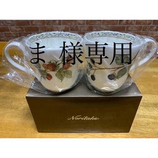 Noritake - ノリタケ オーチャードガーデン マグペアセット(新品)