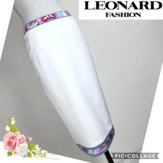 レオナール(LEONARD)のレオナール(LEONARD)ホワイト系スカート (W72)(ひざ丈スカート)